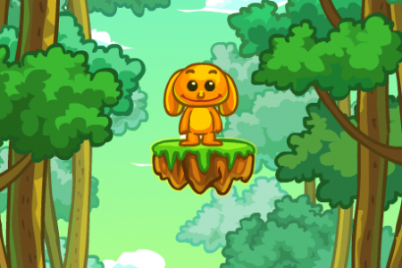 Play free online game Jungle Jump
