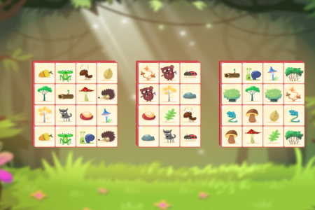 Play free online game Woodventure Mahjong