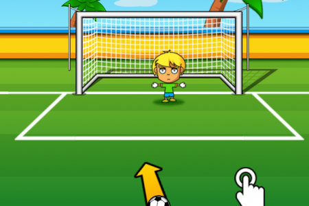 Play free online game Penalty 2014