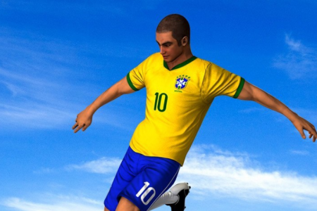 Play free online game Running Soccer