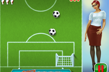 Play free online game Soccer Girl