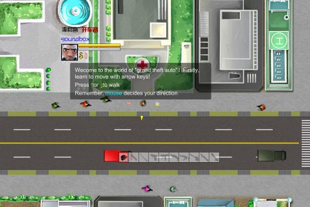 Play free online game GTA 6 Flash Game