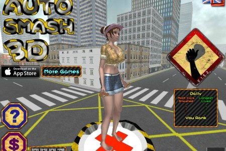 Play free online game GTA Ped (auto smash 3D)