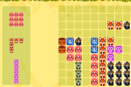 Play free online game 1010 Animals