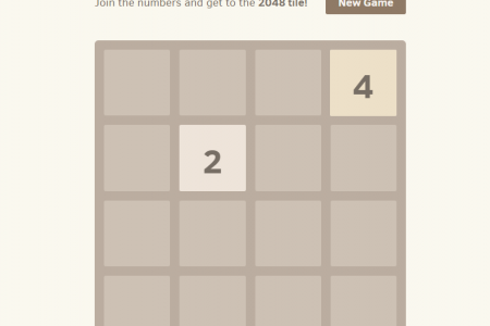 Play free online game 2048