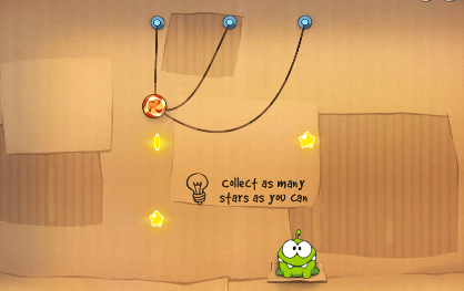 Play free online game Cut the Rope Online