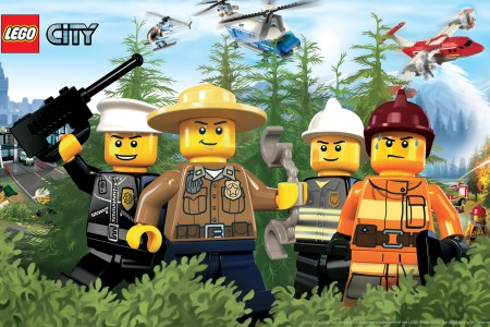 Play free online game Lego City Online: Forest