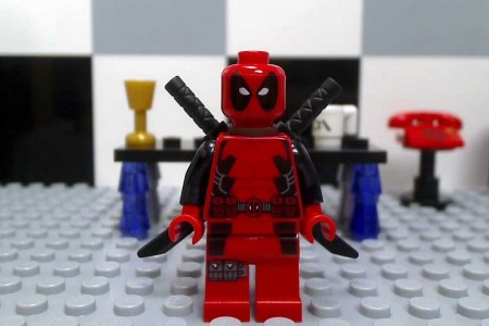 Play free online game Lego Deadpool