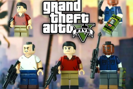 Play free online game Lego GTA Online
