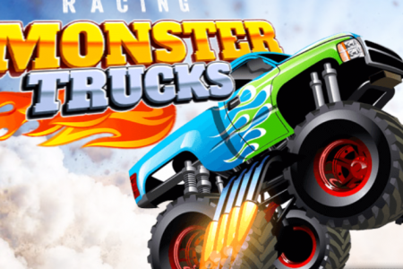 Play free online game Racing Monster Trucks