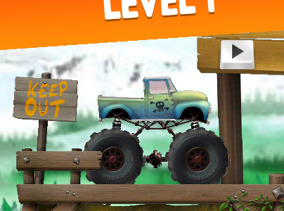 Play free online game Truck Trials