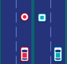 Play free online game Two Cars