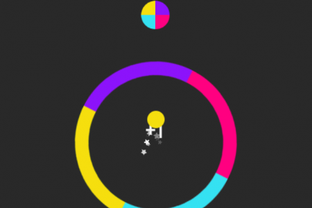 Play free online game Color Switch