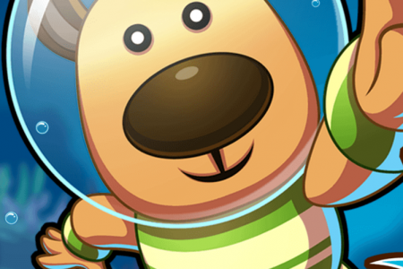 Play free online game Doggy Dive