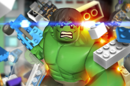 Play free online game Lego Hulk Online