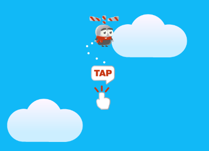Play free online game Swing Copters