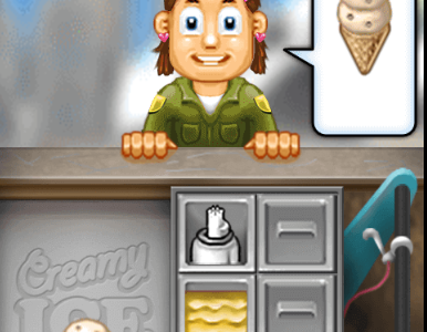 Play free online game Creamy Ice