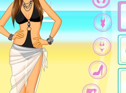 Play free online game Beach Beauty