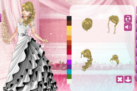 Play free online game Wedding Lily 2